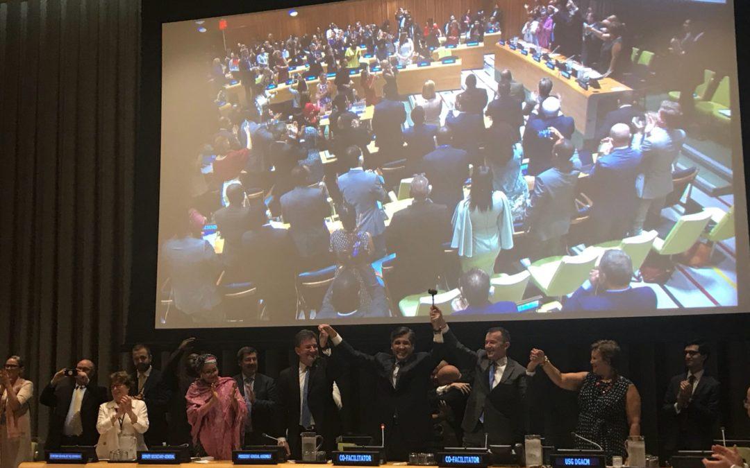 Momento histórico: Primer Pacto Mundial para la Migración
