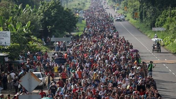 Nota de prensa: Caravana de migrantes