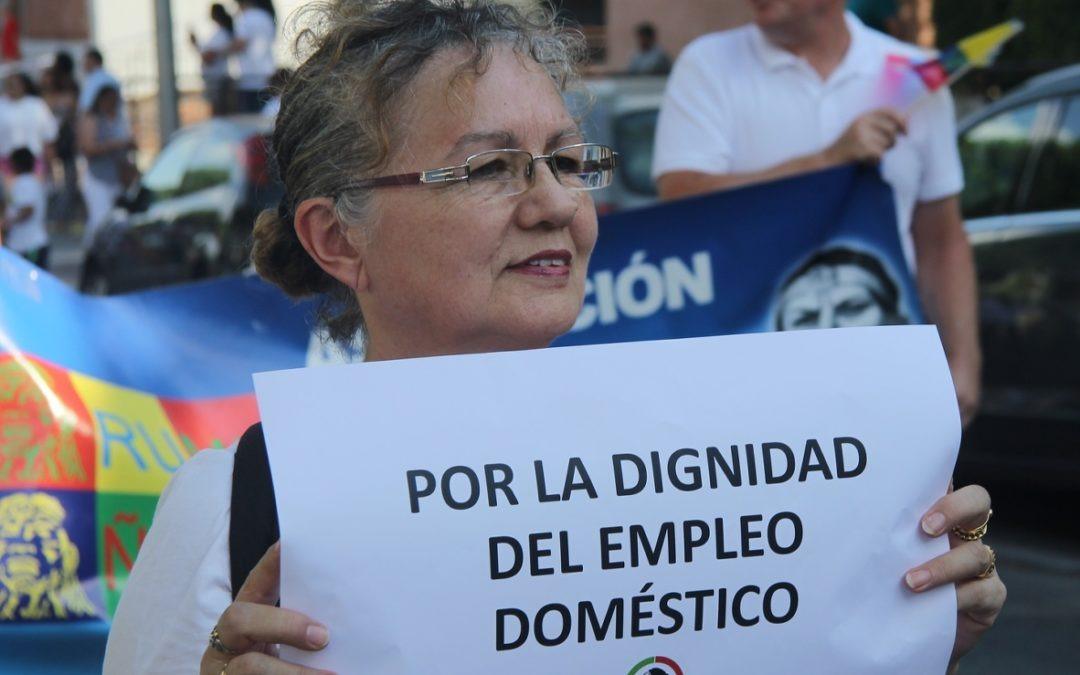 """Campaña """"Puertas afuera"""" sobre el trabajo de Servicio Doméstico"""