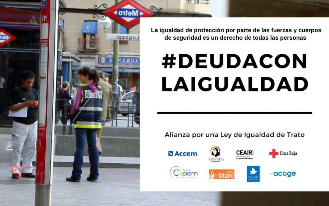 Campaña para la aprobación de la Ley de Igualdad de Trato en España